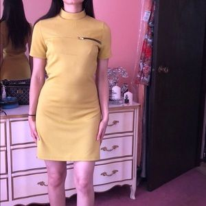 a60f6dd9b6e a gaci Dresses - A Gaci Mustard yellow dress